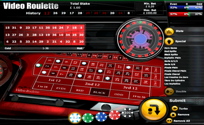 Play Video Roulette