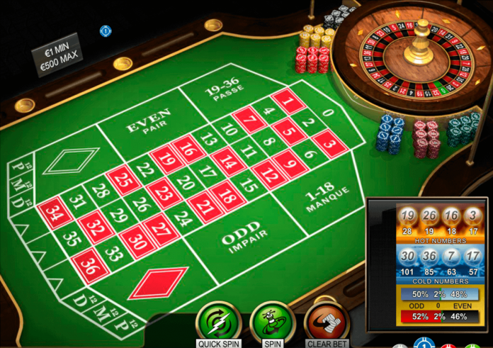 number in roulette